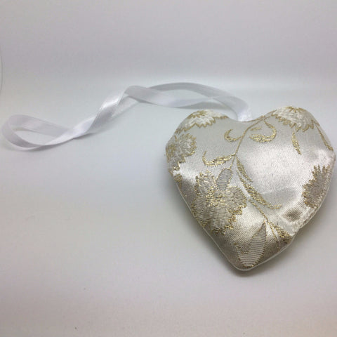 Golden Fabric Lavender Bags
