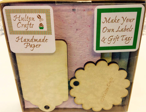 Wooden Gift Tag Craft Kit
