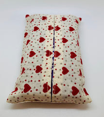 Fabric Handy Pocket Tissue Cover & Tissues
