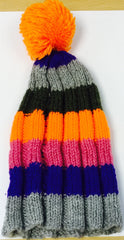 Hat Wool Colour Orange Pink