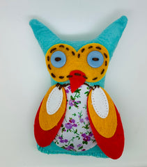 Fabric & Felt Cute Owl
