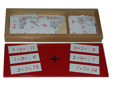 Addition equations and sums box 129566151