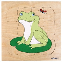 Growth puzzles - Frog, Butterfly, Turtle 9016556677