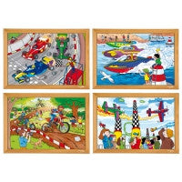 E523305   Power puzzles - Complete set of 4 656258052