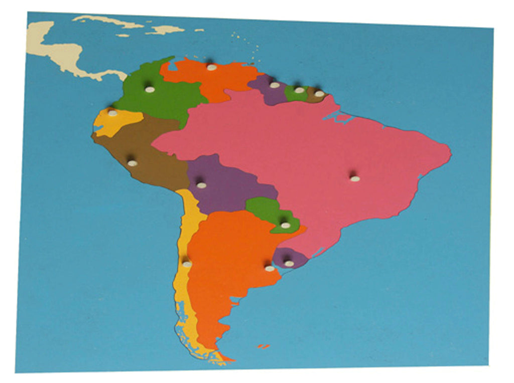 Puzzle map South America (Economy) 129567763