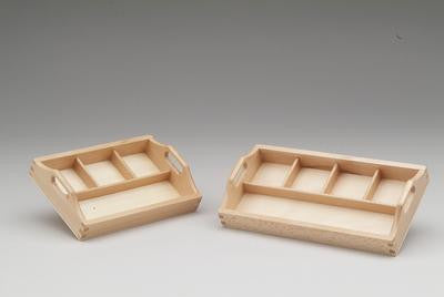 Three Compartment Sorting Tray 129568167