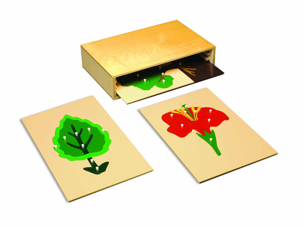 3 Drawer Cabinet: Large Botany Puzzles 129566137