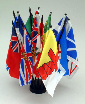 Canadian set of flags 129566443