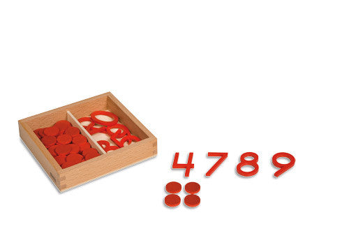 Cut-Out Numerals And Counters: US Version 572051012