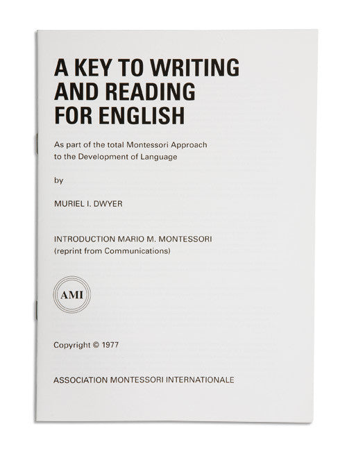 A Key To Writing And Reading For English 589771524
