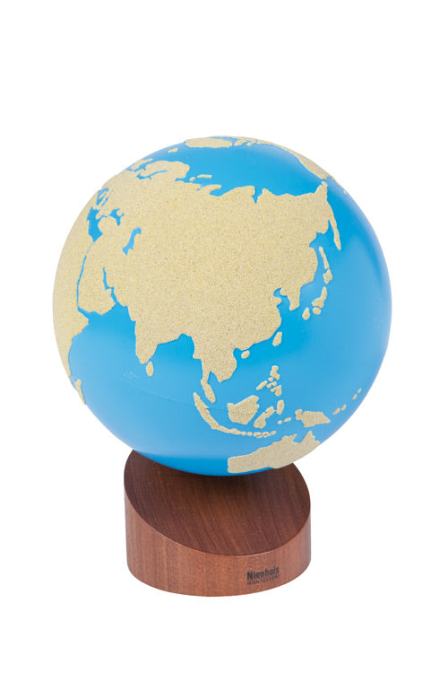 Globe Of Land & Water:  Sandpaper 8797167749
