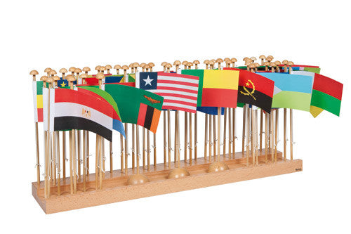 Flag Stand Of Africa 590847812