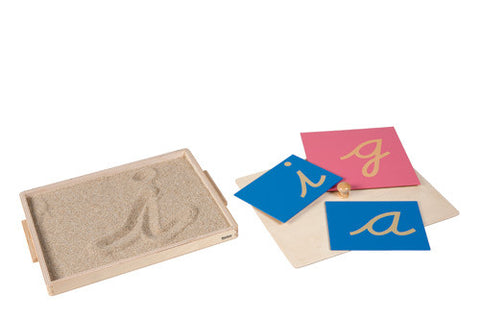 Sandpaper Letter Tracing Tray 589774660