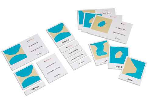 Land And Water Forms: Card Set 590841220