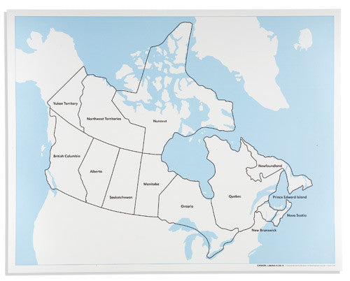 Canada Control Map: Labeled 590846340