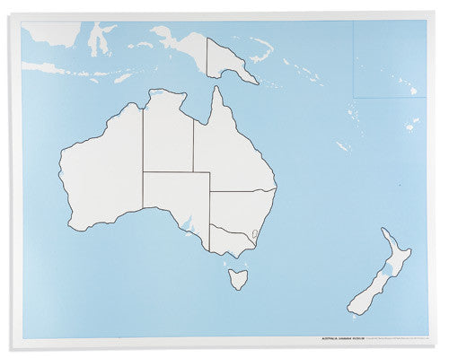 Australia Control Map: Unlabeled 590842756