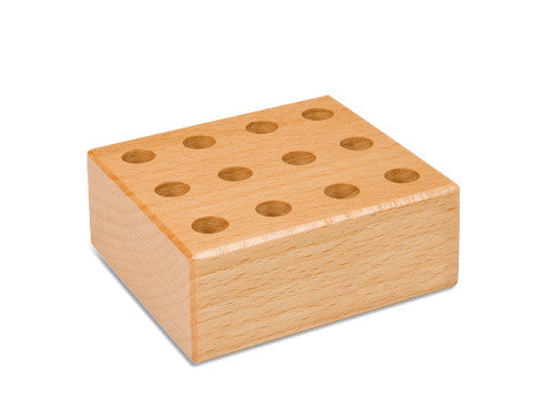 12 Hole Storage Block: For Pencil/Glue Brushes 594077380