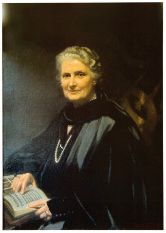 Color Photo - Maria Montessori: A4 - 11.7 x 8.3 in 594077764