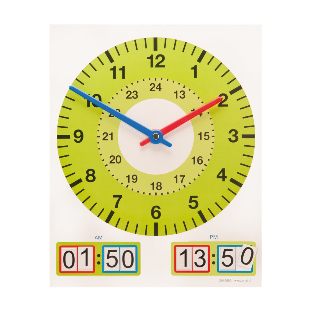 J2070000   Clock Magnetic Teacher 8423484432