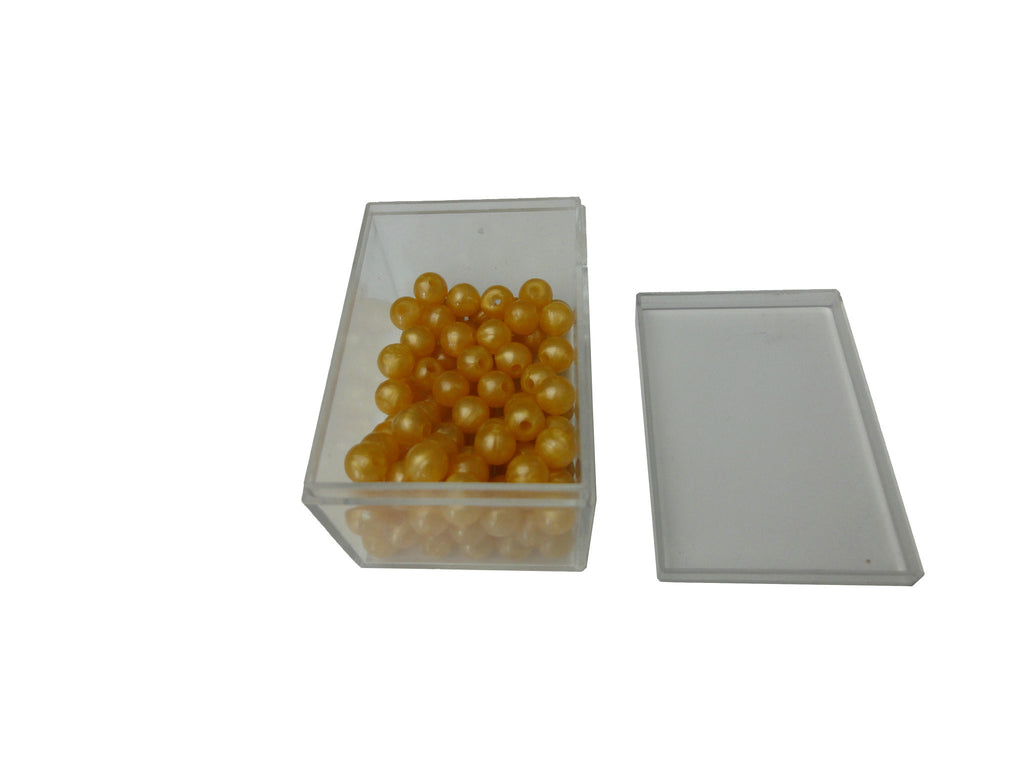 100 golden bead units, nylon 135757661
