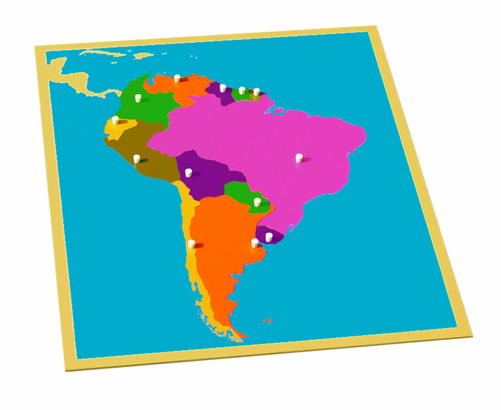 South America Puzzle Map - Clearance 440261632