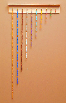 Wall Frame for 1000 Golden Bead Chain 135763953