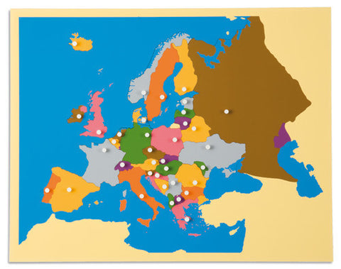 Europe Puzzle Map: Europe 613944196