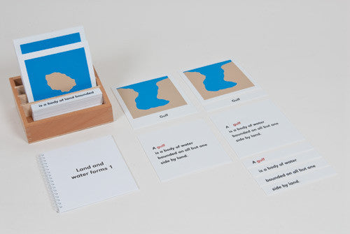 Land And Water Form Cards: Set 1 613950596