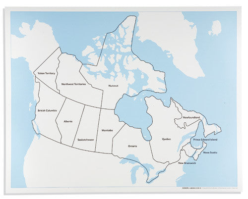 Canada Control Map: Labeled 613930628