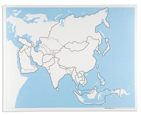 Asia Control Map: Unlabeled 613941188