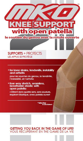 MKO KNEE SUPPORT OPEN PATELLA