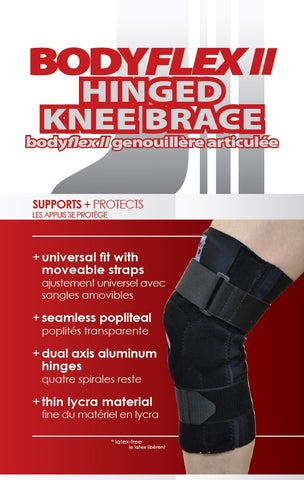 BODYFLEX II HINGED KNEE BRACE