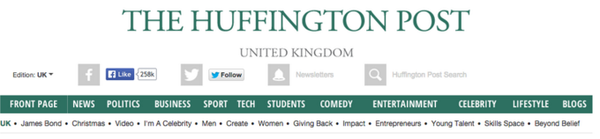 iamVibes Feature on Huffington Post Uk