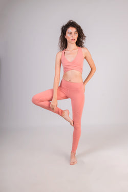 Blossoming Lotus Leggings - IAM VIBES