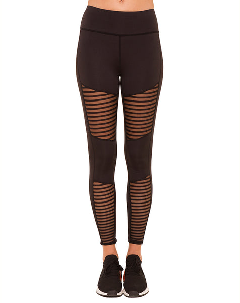 Mesh Biker Leggings