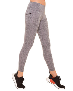Static Grey Pocket Leggings