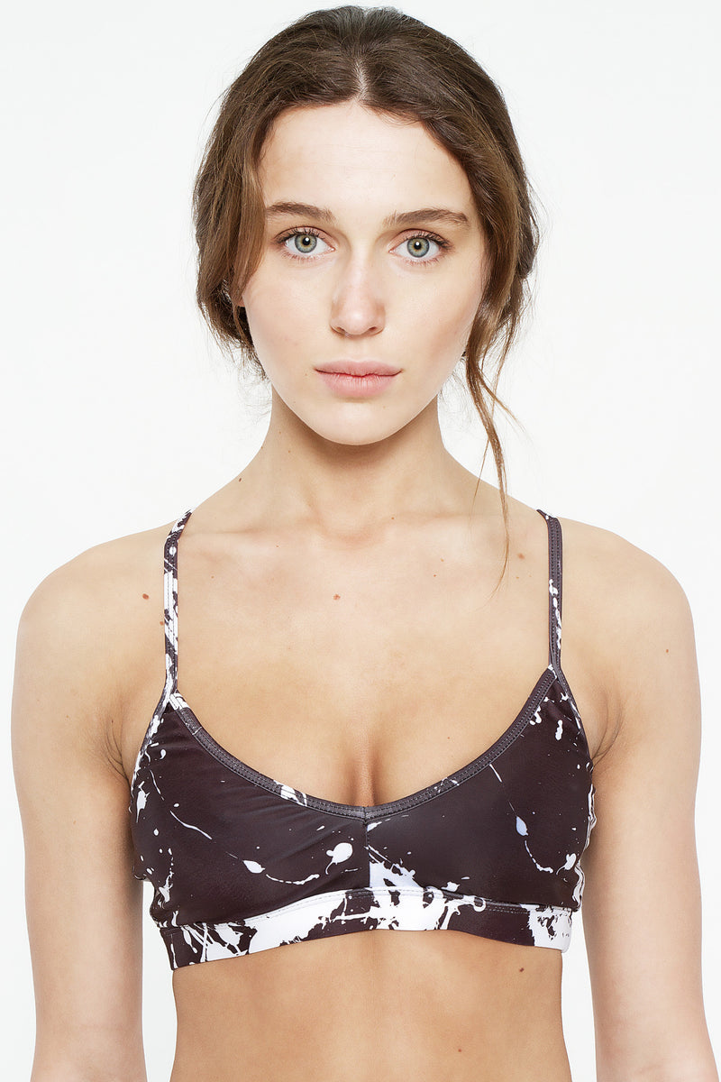 Black Expression Sports Bra