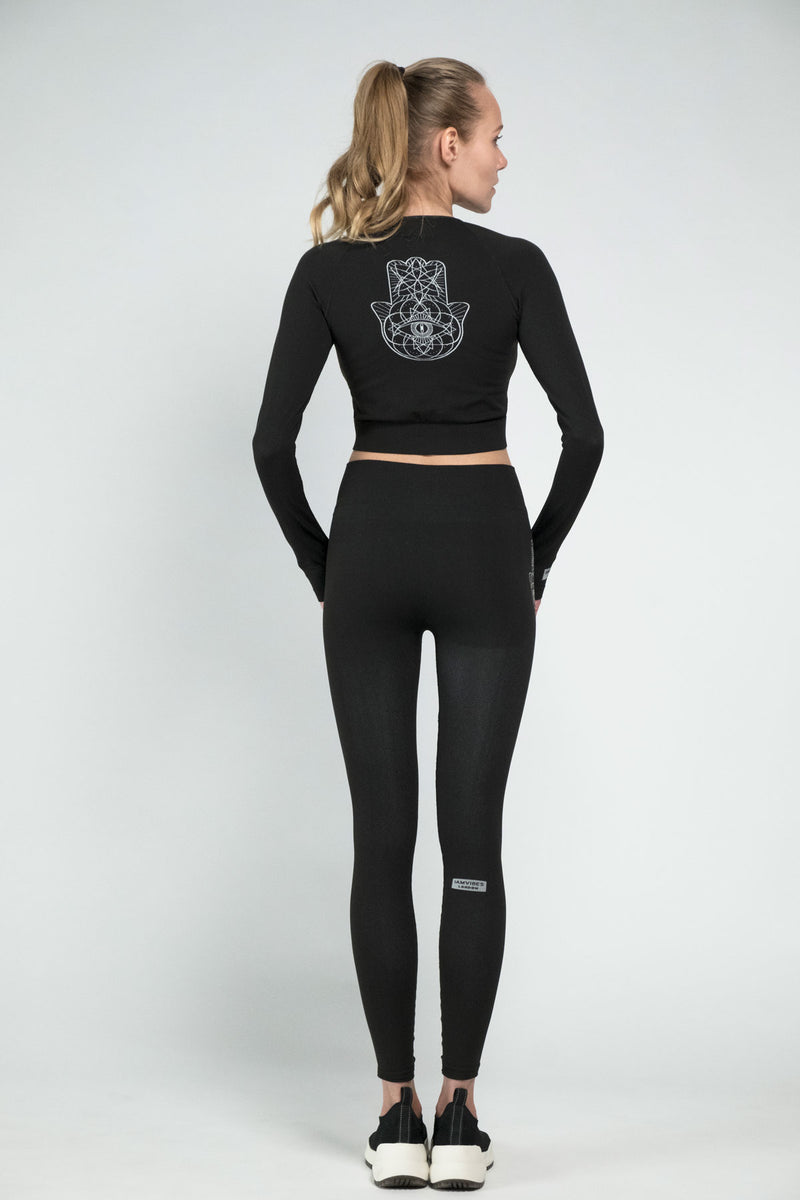 Black Desert Leggings - IAM VIBES