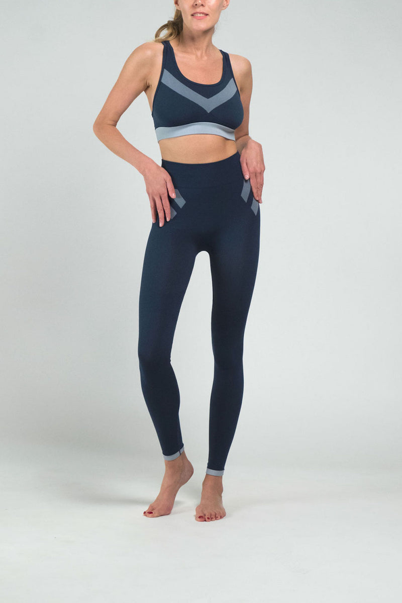 Blue Pilot Leggings - IAM VIBES