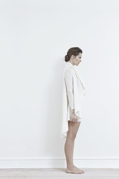 Pilou Merino Wool Off-White Melange