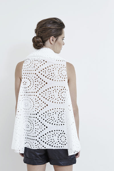 Pilou cotton lace