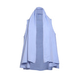 Pilou Cotton Shirt Blue Oxford