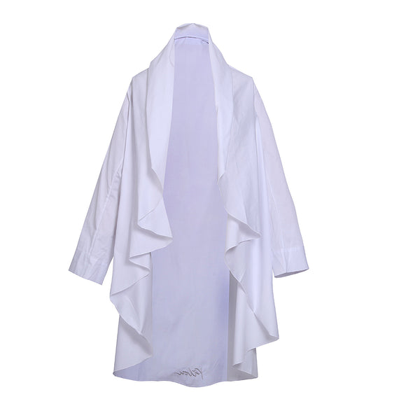 Pilou Cotton Sleeves  Chrispy White
