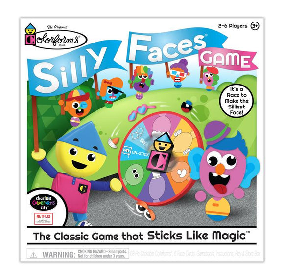Colorforms Silly Faces Game
