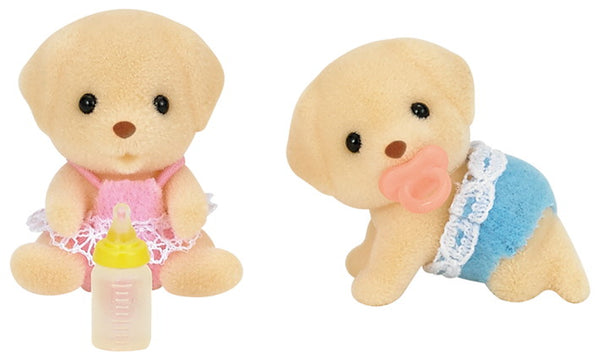 Calico Critters Yellow Labrador Twins