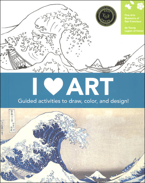 Mudpuppy Activity Book - I Heart Art