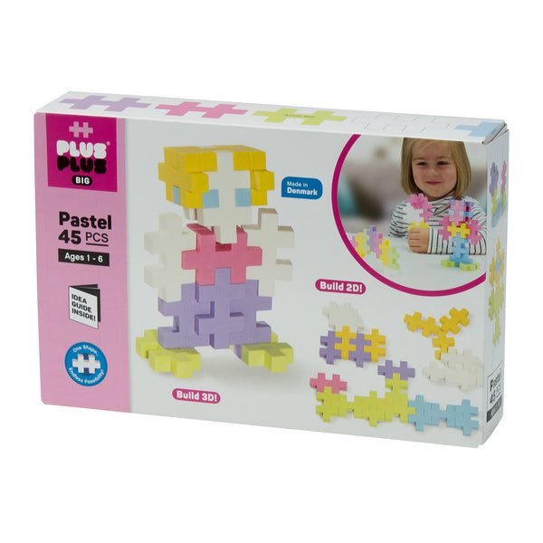 Plus-Plus BIG 45pc Pastel