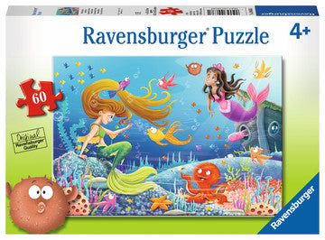 Ravensburger Puzzle 60 Piece Mermaid Tales
