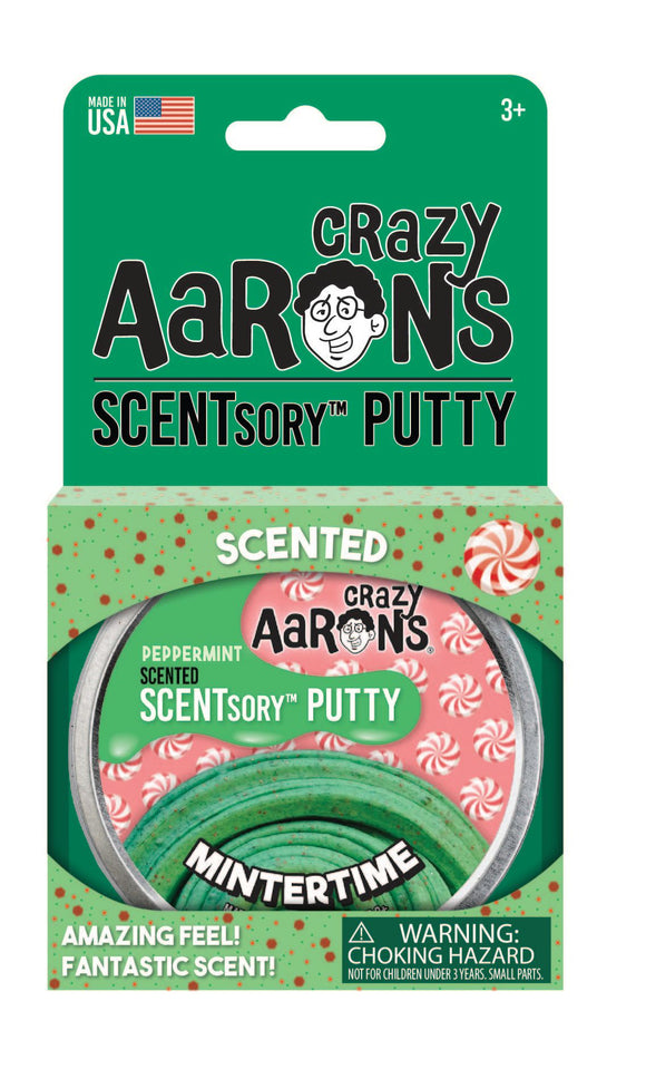 Crazy Aaron's SCENTsory™ Putty Holiday - Mintertime