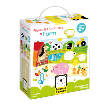 Banana Panda Figure it Out Puzzle - Farm